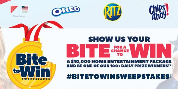 Nabisco Bite To Win Sweepstakes