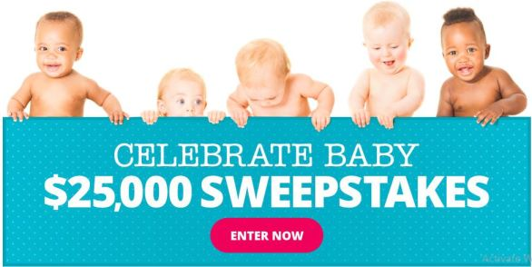Parents Celebrate Baby $25,000 Sweepstakes