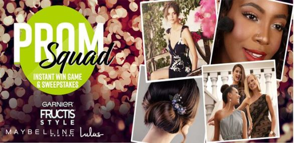 Garnier Prom Squad Sweepstakes