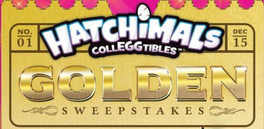 Golden Hatchimal Sweepstakes