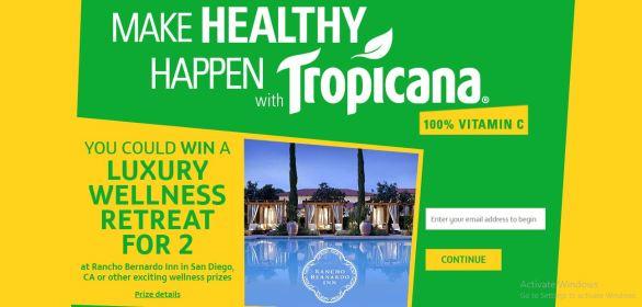 Make Healthy Happen With Tropicana