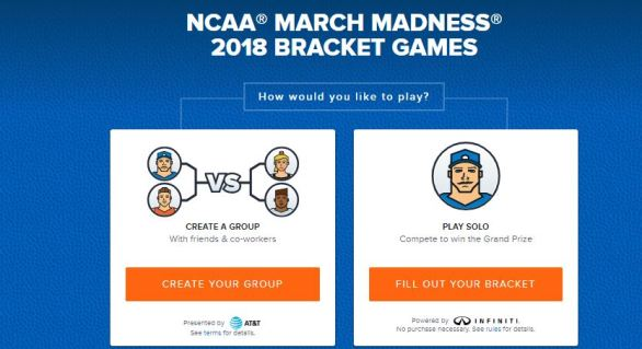 NCAA March Madness Bracket Challenge Contest