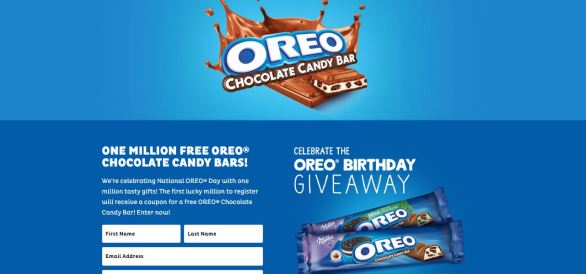 Oreo Birthday Giveaway