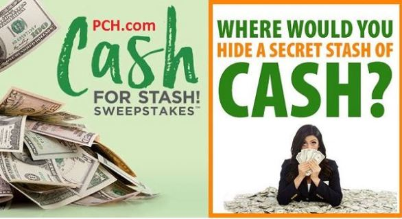 PCH Secret Cash Stash Sweepstakes