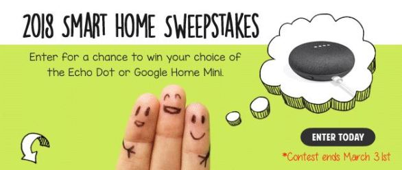 Smart Home Devices Smart Home Sweepstakes