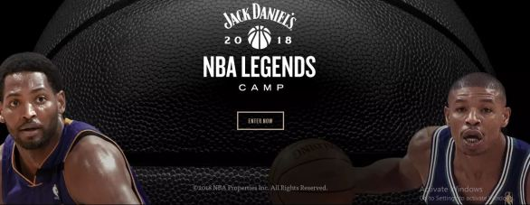 Whiskey NBA Legends Camp Sweepstakes