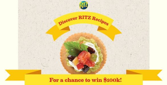 Top Your RITZ Scan Sweepstakes