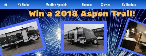 Aspen Trail RV Giveaway