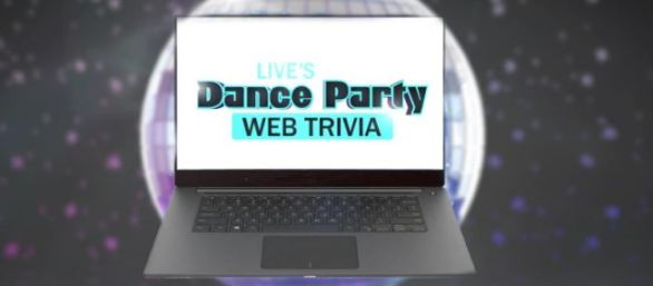 Kelly & Ryan Dance Party Trivia Web Sweepstakes