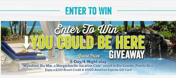 Margaritaville You Could Be Here Giveaway
