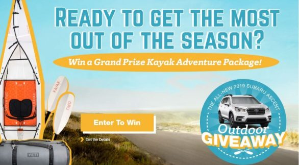Ascent Outdoor Adventure Sweepstakes