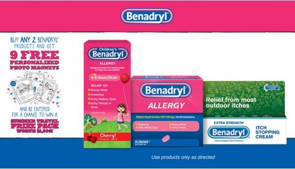 Benadryl Picture-Perfect Summer Sweepstakes