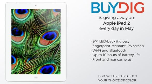 BuyDig Apple a Day Giveaway Sweepstakes