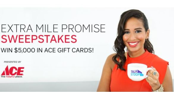 Extra Mile Promise Sweepstakes