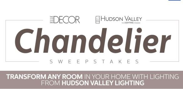 Hudson Valley Lighting Sweepstakes