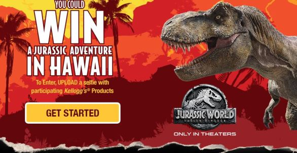 Kellogg Jurassic Adventure Sweepstakes