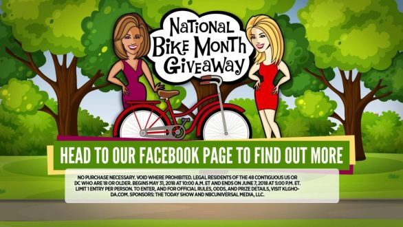 National Bike Month Giveaway