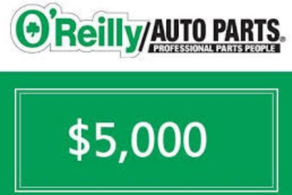 O' Reilly Cares $500 Sweepstakes