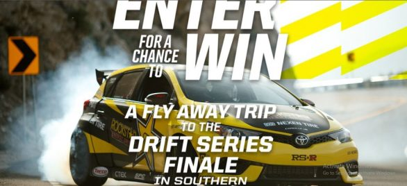 Rockstar Drift Sweepstakes