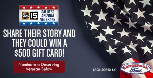 Salutes Arizona Veterans Contest