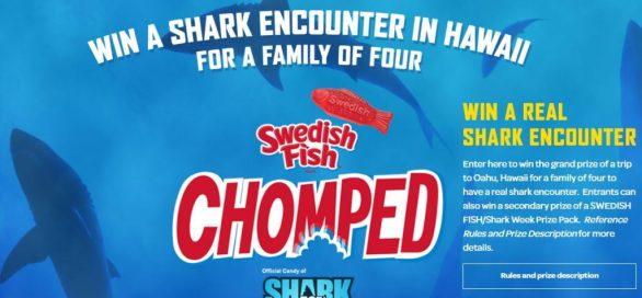 Shark Week Swedish Fish Chomped Sweepstakes