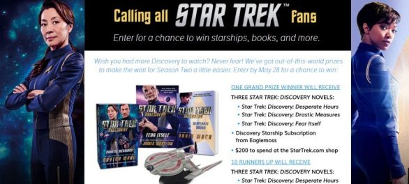 Star Trek Discovery Starships Sweepstakes