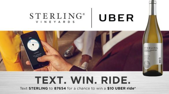 Sterling Uber Sweepstakes