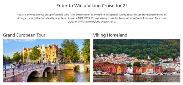 Viking Cruises Spring Cruise Sweepstakes