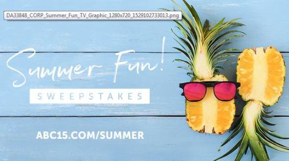ABC15 Summer Fun Sweepstakes