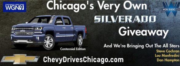 Chevy Drives Chicago Silverado Giveaway