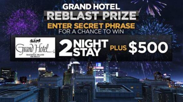 ClickOnDetroit Fireworks Grand Hotel Reblast Contest