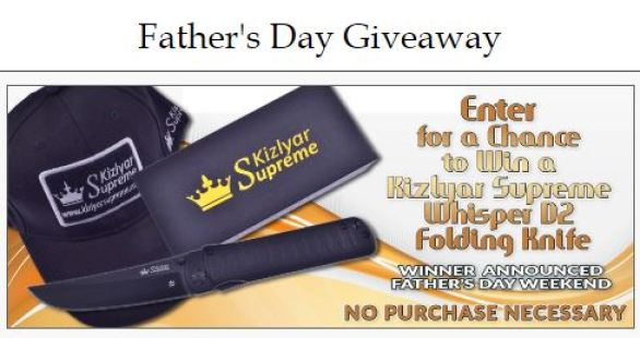 Cutlery Corner Father's Day Giveaway
