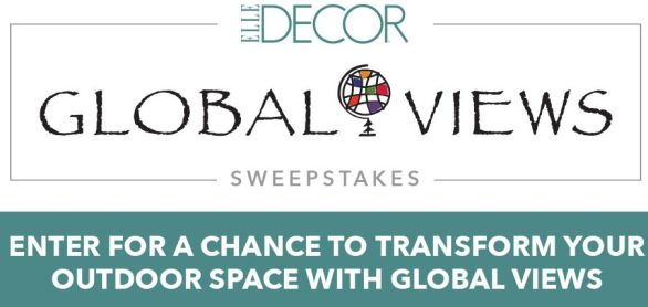 ELLE Decor Global Views Sweepstakes