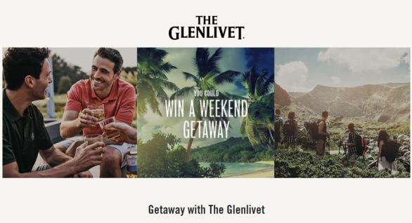 Getaway with The Glenlivet Sweepstakes