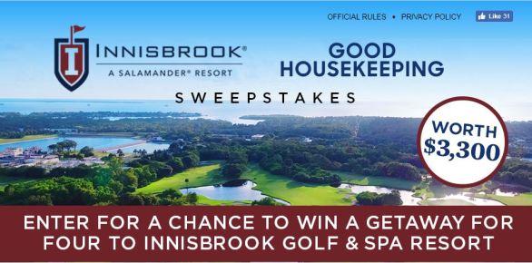 Good Housekeeping Innisbrook Sweepstakes