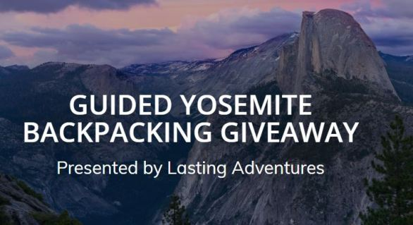 Guided Yosemite Backpacking Giveaway