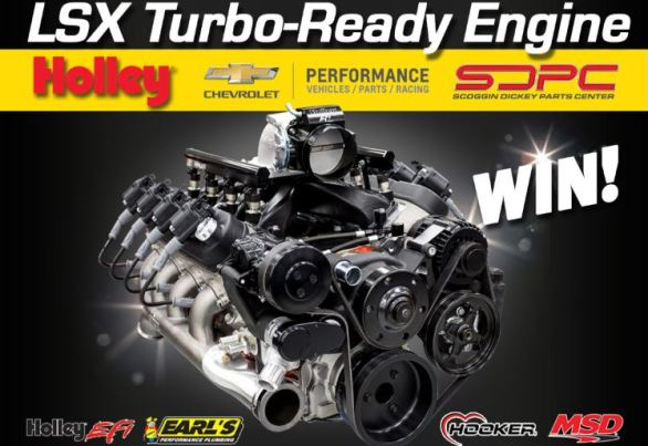 Holley LS Engine Sweepstakes