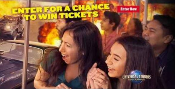 KCRA Universal Studios Hollywood Sweepstakes