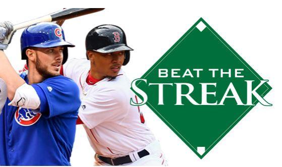 MLB Beat the Streak Contest