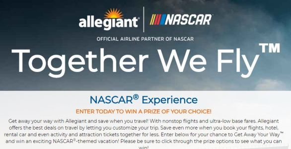 NASCAR Experience Sweepstakes