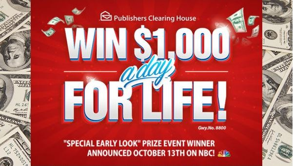 Pch online sweepstakes instant win