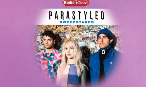 Radio Disney Parastyled Sweepstakes