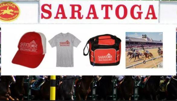 Saratoga Race Track Giveaways