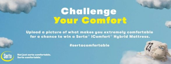 Serta Challenge Your Comfort Sweepstakes