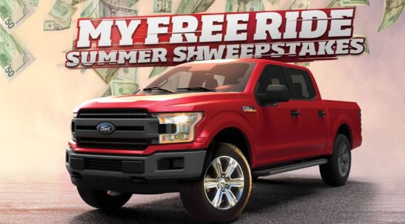 Sheetz My Free Ride Summer Sweepstakes