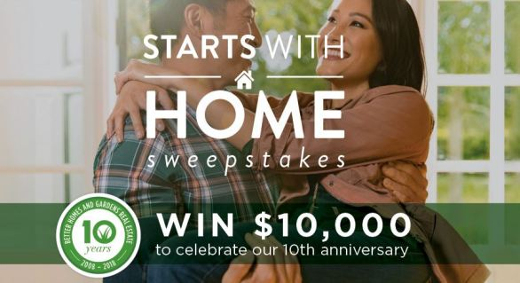 Starts with a Home Sweepstakes