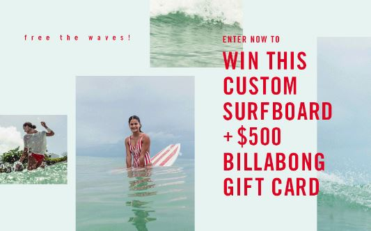Waves Surfboard Sweepstakes
