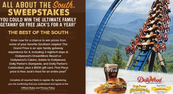 All About The South Sweepstakes