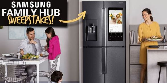 Conn's HomePlus Samsung Family Hub Sweepstakes