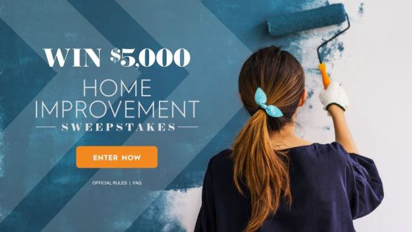 Family Circle Home Improvement $5,000 Summer Sweepstakes